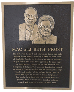 mac and beth frost plaque